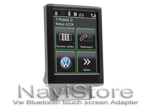 vw pairing bluetooth adapter touch screen ebay. Black Bedroom Furniture Sets. Home Design Ideas