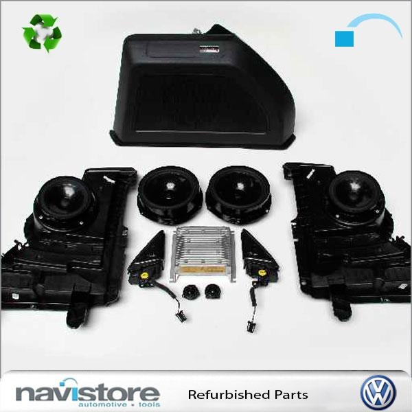 original vw the beetle 5c fender soundsystem ebay. Black Bedroom Furniture Sets. Home Design Ideas