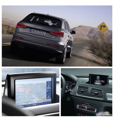 Audi Infotainment MMI High 3G+, incl. Navigation HDD - Retrofit - Audi Q3 8U