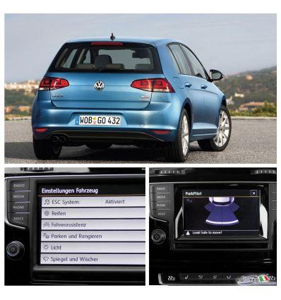 Park Pilot con OPS grafico - Posteriore - Retrofit - VW Golf 7