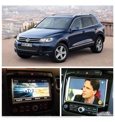TV Receiver - Retrofit - VW Touareg 7P - RNS 850