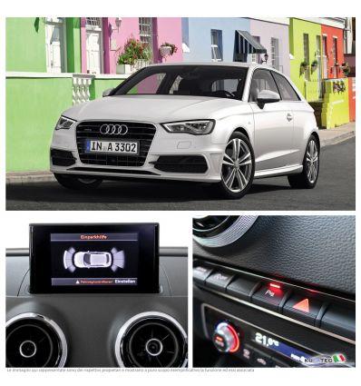 APS Audi Parking System Plus - Anteriore + Grafico - Retrofit - Audi A3 8V