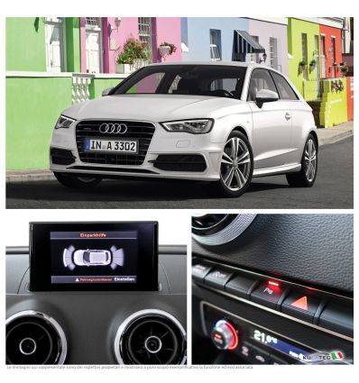 APS Audi Parking System Plus - Anteriore + Grafico - Retrofit - Audi A3 8V