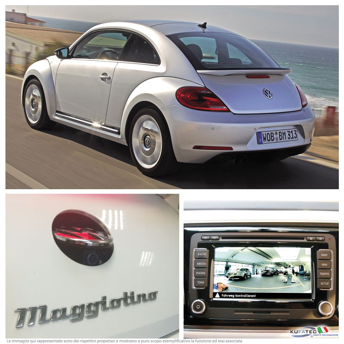 rear view camera retrofit vw beetle 5c navistore. Black Bedroom Furniture Sets. Home Design Ideas
