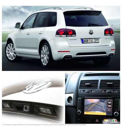Rear View Camera - Retrofit - VW Touareg 7L