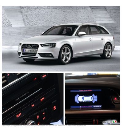 APS Audi Parking System Plus - Ant + Grafico - Retrofit - Audi A4 8K