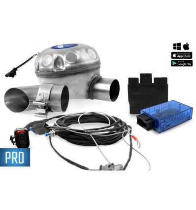 Universal complete set active sound incl. Sound Booster