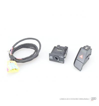 Kit postmontaggio interrutore a chiave disattivazione airbag passeggero (solo guida sinistra) - Audi A4 8K A5 8T