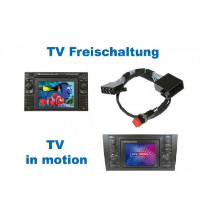 "Video in Motion ""Plug&Play"" - Audi RNS-D / Volkswagen MFD"