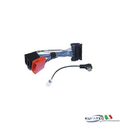 VW adapter head unit MFD2, RNS2, RCD300, Delta6