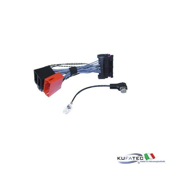 Kufatec Vw Adapter Radio Navigationunit Mfd2 Rns2: VW Adapter Head Unit MFD2, RNS2, RCD300, Delta6