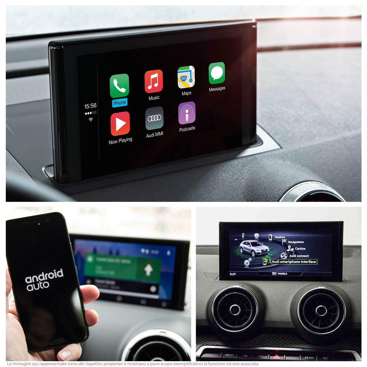 Audi Smartphone Interface - Retrofit - Audi A3 8V, Q2 GA