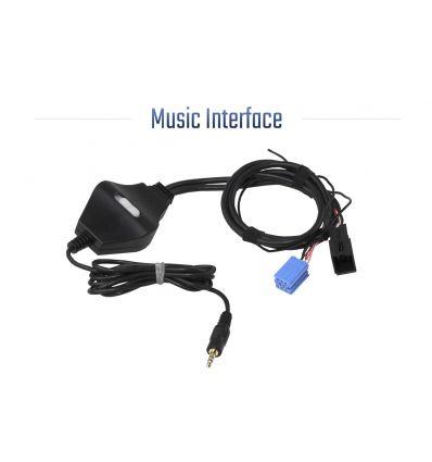 Music Interface - Jack - Mini ISO - Audi/VW