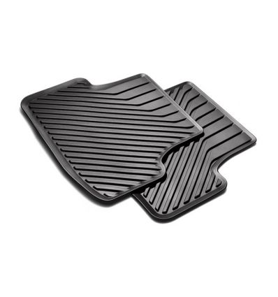 Tappetino posteriore in gomma nera - Audi A3 8V Sportback / Berlina