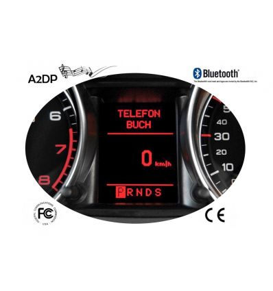 "FISCON Handsfree Bluetooth - Audi, Seat ""Basic"" (Qualdlock)"