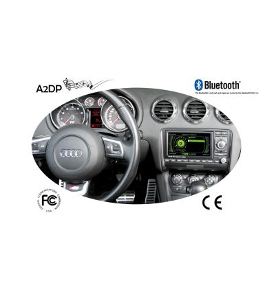 "FISCON Handsfree Bluetooth - Audi ""Basic-Plus"" RNS-E BNS 5.0"
