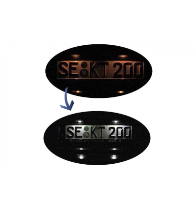 Bundle LED number plate illumination Audi A1 8X A4 8K A5 8T Q5 8R