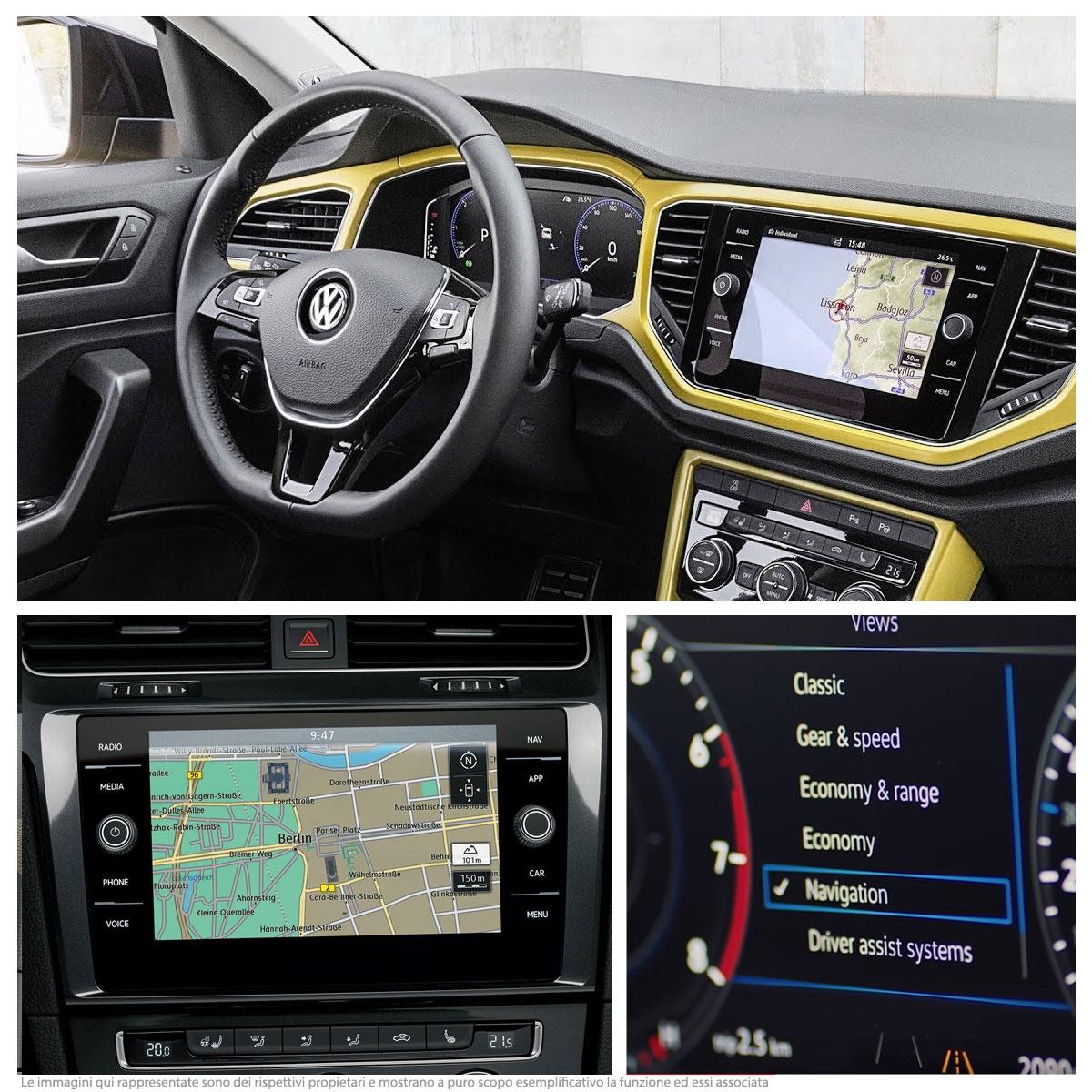 VW Navigation Retrofit - Radio Composition Media 8