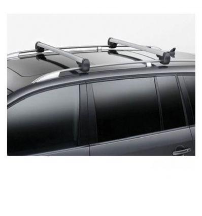 Barre portacarico Col. argento - VW Touran 1T con mancorrenti