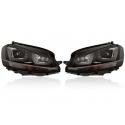 Set fari anteriori Bi-xenon con luce diurna LED - VW Golf 7