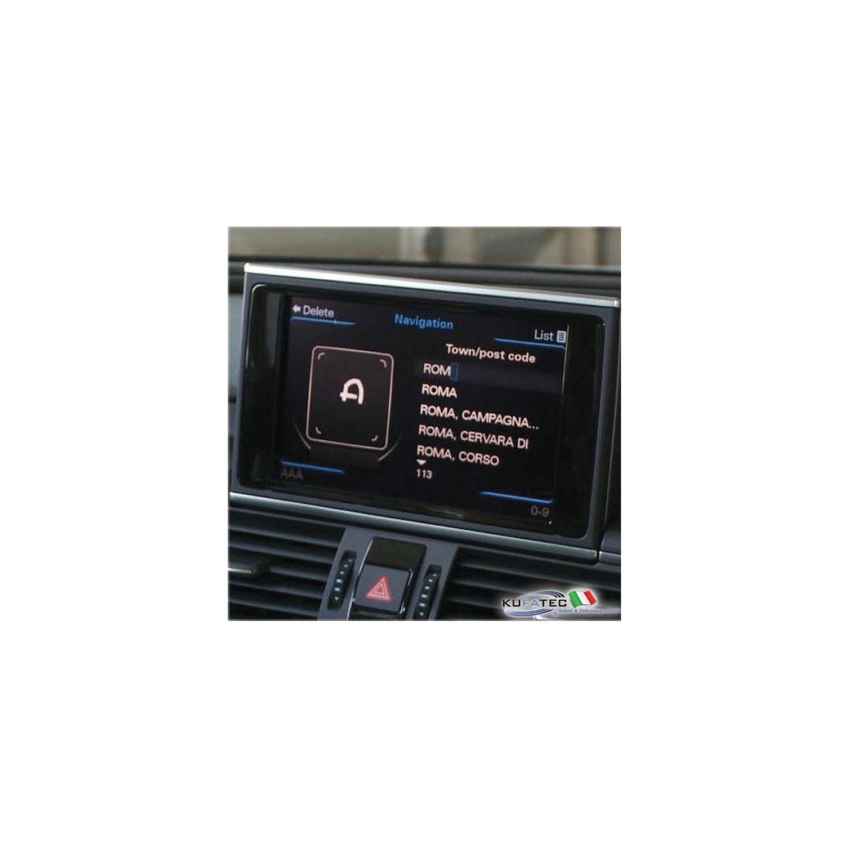Audi Infotainment Mmi High Incl Navigation Hdd Retrofit Audi A6 4g A7 4g Navistore