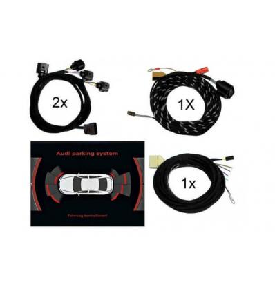 Set cavi Park Distance Control (PDC) - Anteriore & Posteriore - Audi A8 4E