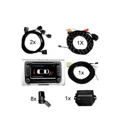 APS Parking System Plus - Ant. & Post. incl. grafica - Retrofit kit - Audi Q5 8R