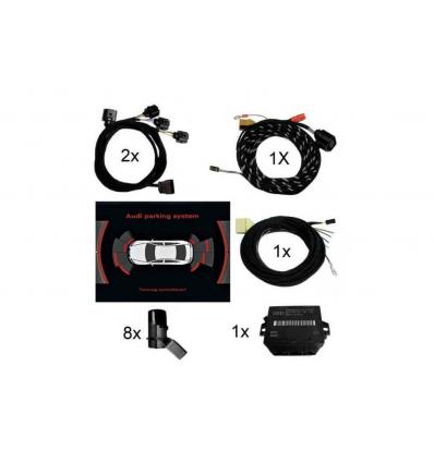 APS Parking System Plus - Ant. & Post. incl. grafica - Retrofit kit - Audi A3 8P