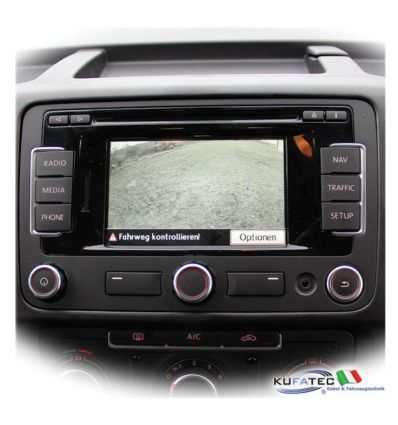 Rear View Camera - Retrofit - VW T5 GP Swing doors - Complete