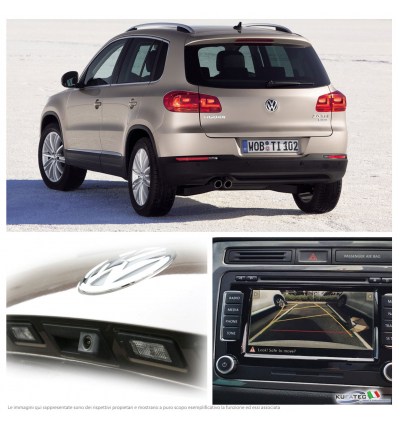 Rear Assist - Retrocamera - Retrofit kit - VW Tiguan 5N