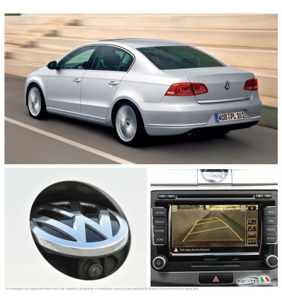 Rear Assist - Retrocamera - Retrofit kit - VW Passat B7 berlina