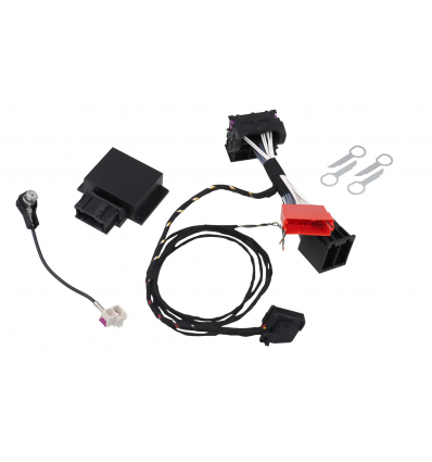 CAN Bus Interface VW RNS 510 / MFD3 TP 1.6 - TP 2.0 incl. Video in Motion - Plu&Play - ISO