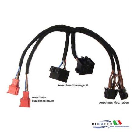 Seat Heating - Relay Harness - VW Polo 6N, Golf 3 / Vento
