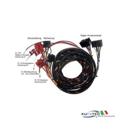 Seat Heating + regolazioni elettriche - Harness - VW Passat 3B, Passat 3BG