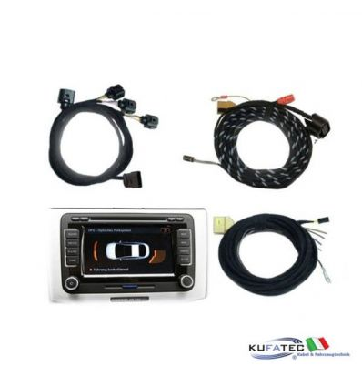 Park Pilot - Front + Rear with OPS function - Wiring - VW Passat B7