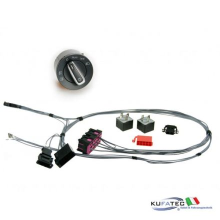 Wiring Coming home / Leaving home - Harness w/ light switch - VW Polo 6R