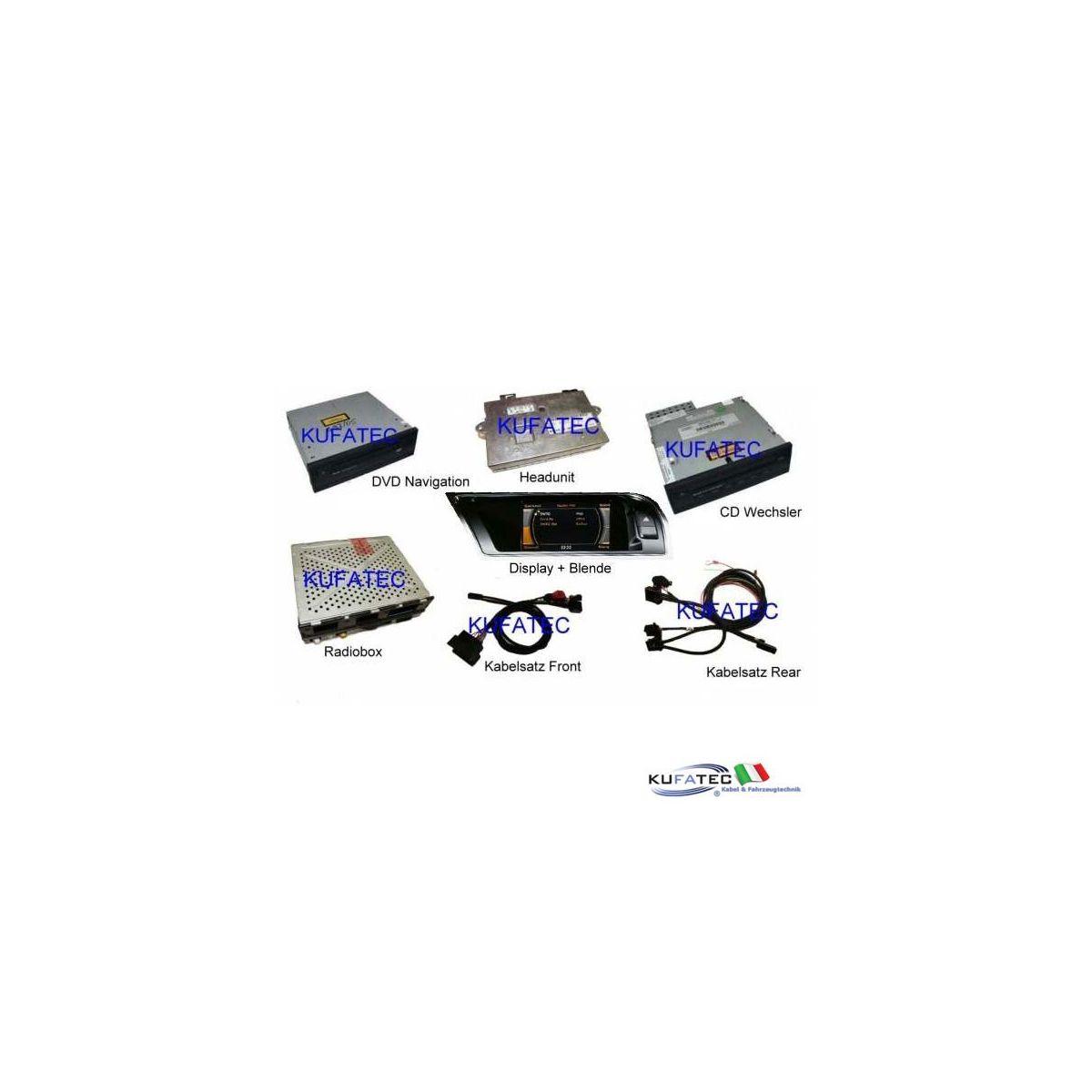 audi infotainment mmi high 2g  incl  navigation dvd