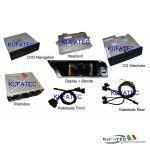 Audi Infotainment MMI High 2G, incl. Navigation DVD - Retrofit - Audi A5 8T  con radio Chorus3 / Concert3 / Symphony3