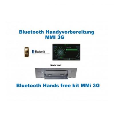 "Bluetooth Handsfree - Audi Q7 4L con MMI 3G Radio Basic - ""Bluetooth Only"""
