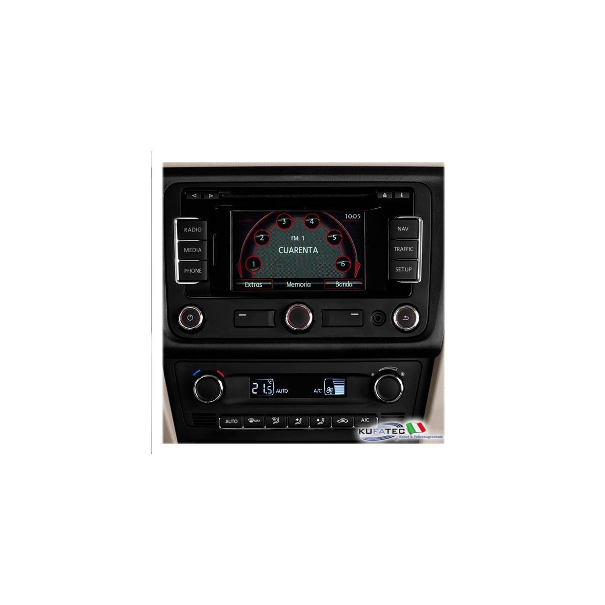 radio navigation seat media system 2 1 display touch 5. Black Bedroom Furniture Sets. Home Design Ideas