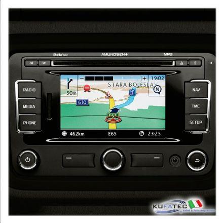 "Radio Navigation Skoda Admunsen+, display touch 5"" incl. Bluetooth - Retrofit - Skoda"
