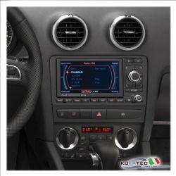 Audi Navigation RNS-E Chrome model year 2008 - Retrofit - Audi A3 8P