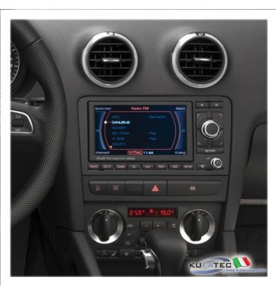 Audi Navigation RNS-E Chrome model year 2008 - Retrofit - Audi A3 8P