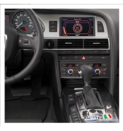 Audi Infotainment MMI High 2G, incl. Navigation DVD - Retrofit - Audi A6 4F con MMI Basic-Plus (8DP)