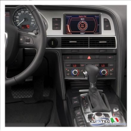 audi infotainment mmi high 2g incl navigation dvd retrofit audi a6 4f con mmi basic plus. Black Bedroom Furniture Sets. Home Design Ideas