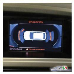 APS Audi Parking System Plus - Ant + Post + Grafico - Retrofit - Audi A4 8K