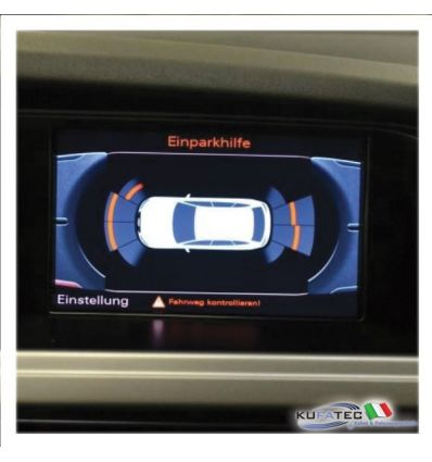 APS Parking System Plus - Ant. & Post. incl. grafica - Retrofit kit - Audi A4 8K