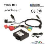 """FISCON Handsfree Bluetooth - Audi """"Basic"""" (miniISO) con navigazione BNS 4.X"""