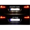 Luci targa LED - Retrofit kit - Porsche Cayenne E2