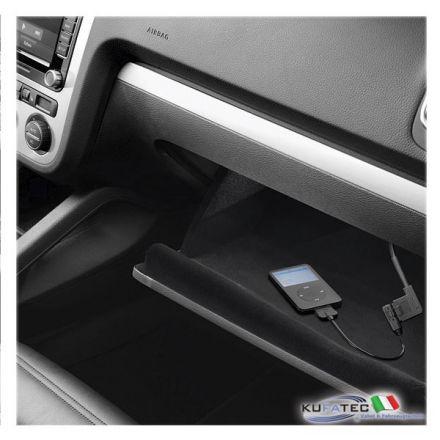 VW MEDIA-IN/MDI Interface - Glove Box - Retrofit